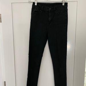 BDG Black High Waisted Skinny Jeans size 25